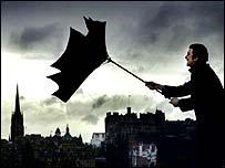 Storms in Edinburgh