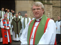 The Bishop of New Westminster and other church leaders