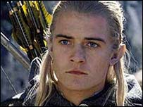 Orlando Bloom in the Two Towers