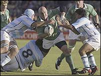 Ireland had a narrow victory over Argentina