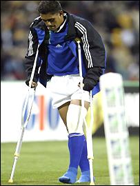 Injured Samoa wing Ron Fanuatanu