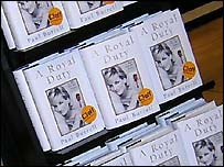'A Royal Duty' on the bookstand