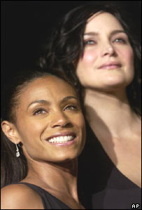 Jada Pinkett Smith and Carrie-Anne Moss