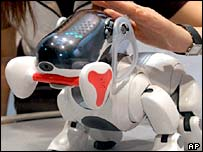 Sony's Aibo robot dog