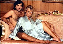 George Best with a blonde woman