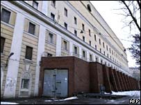 Moscow's Matrosskaya Tishina prison, where Mr Khodorkovsky is being held