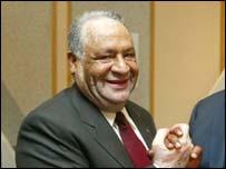 Ismail Bhamjee of Botswana