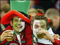 Welsh fans in Sydney