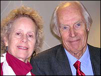 Sir George Martin and Aeronwy Thomas