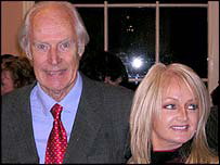 Sir George Martin with Bonnie Tyler