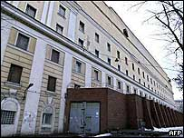 Matrosskaya Tishina prison where Khodorkovsky is being held