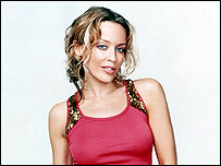 Kylie Minogue, singer of I Just Can't You Out Of My Head