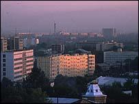 Uzbek capital Tashkent