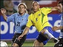 Diego Forlán y Ronaldo