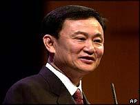 Thailand Prime Minister Thaksin Shinawatra