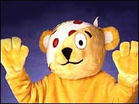 Children in need's mascot, Pudsey Bear