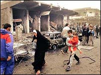 Bombing of Baghdad market place