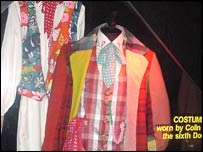 Colin Baker's Dr Who costume