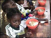 Centro para adultos y ni�os con SIDA, Roodeport, Sud�frica