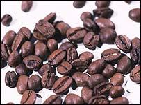 Coffee beans, BBC