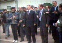 Слободан Милошевич в Косове. 1987 год