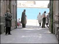 Street scene, Kashgar