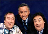 Monkhouse with Bernard Manning and Eddie Large