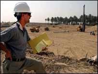 Enlarging the fresh water treatment plant near Baghdad