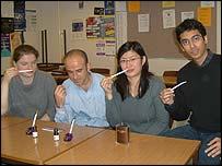 Sandra Meyer, Marios Nicolaou, Kin Ling Wu and Aditya Chandrachud