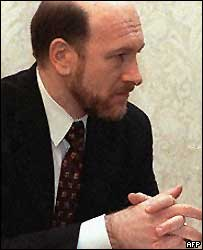 Alexander Voloshin, Kremlin chief of staff