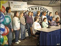 Minnesota school workers who scooped $95m on the lottery