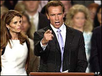 Arnold Schwarzenegger and wife Maria Shriver