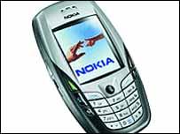 Nokia 6600 smartphone
