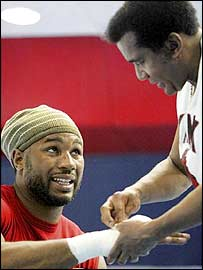 Lennox Lewis and Emanuel Steward