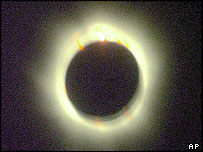 Photo of 1999 total eclipse