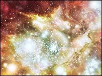 Starbirth at the edge of the Universe, Nasa