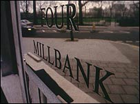 The BBC's political programmes unit at Millbank
