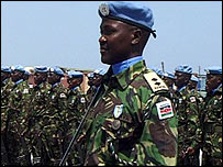 Kenyan peacekeepers
