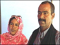 Fatma Maulud and husband, Mohamed