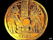 Mayan altar from Cancuen