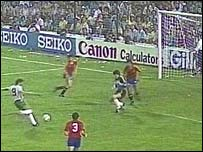 Gerry Armstrong's 1982 World Cup goal