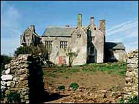 Sker House before it was restored (Pic courtesy of Davies Sutton Architecture)