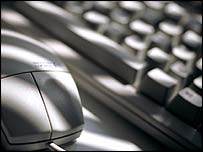Computer mouse and keyboard, BBC