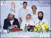 Amishav delegation