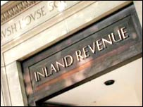 Inland Revenue sign