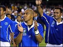 Samoa gave England a tough test