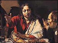 Caravaggio's Christ