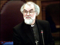Rowan Williams at his enthronement
