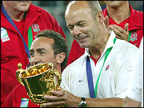 England coach Clive Woodward