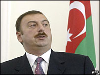 Ilham Aliyev succeeded his father as president